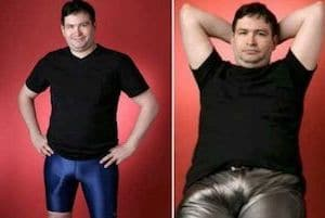 Jonah Falcon in Leggins